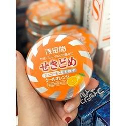 kẹo ngậm trị viêm họng Asada Suzuki Solid Cool S Nhật Bản vị cam