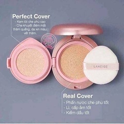 Phấn nước LANEIGE 2in1 Layering cover cushion SPF 50+ PA ++