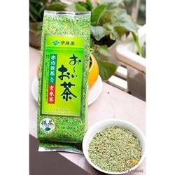 Trà gạo lứt rang và trà xanh Nhật bản