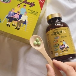 Tảo vàng Spirulina EX Nhật Bản cao cấp lọ 1000 viên tách set không hộp