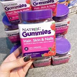 Kẹo dẻo Natrol Hair, Skin & Nails Gummies