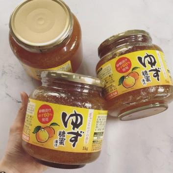 Chanh yuzu ngâm mật mía hũ 1kg