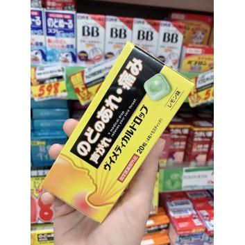 Kẹo ngâm ho, kháng khuẩn cổ họng Nhật Bản