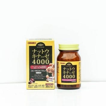 Viên uống hỗ trợ điều trị đột quị 4000 FU Orihiro 60 viên