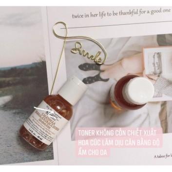 Toner Hoa Cúc Kiehls - Calendula Herbal Extract Alcohol-Free Toner 40ml