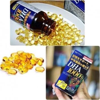 Viên uống bổ sung DHA 1000mg ITOH Nhật Bản