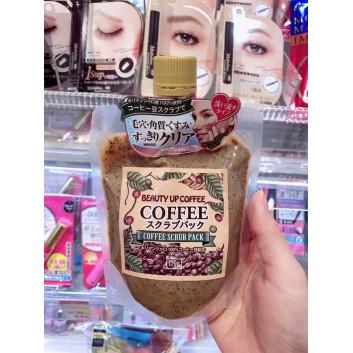 Tẩy da chết cho mặt beauty up coffee scrub pack