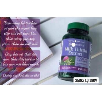 Viên uống cao kế sữa Milk Thistle Extract 1000mg 18 viên