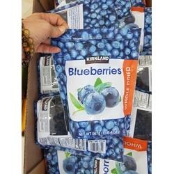 Quả việt quất sấy khô Blueberries Kirkland, 567g